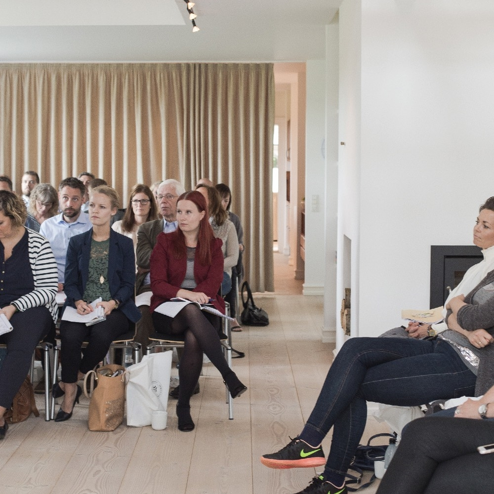 Konference hos pej gruppen. Foto: Anja Bloch-Hamre