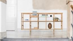 Harald Hermanrud Studio, Homer, reol, eg, bøg, 2017
