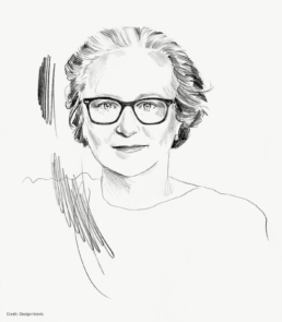 Credit: illustration of Li Edelkoort by design Hotels