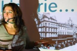 Stine Grubbe - foredragsholder hos pej gruppen