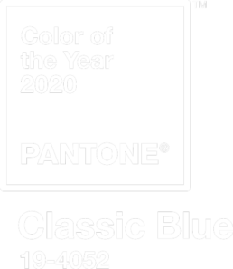 Pantone Classic Blue 19-4052 / colour of the year 2020