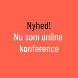 Nyhed - nu som online konference