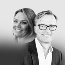 Lisbeth Wilstrup og Morten Theil