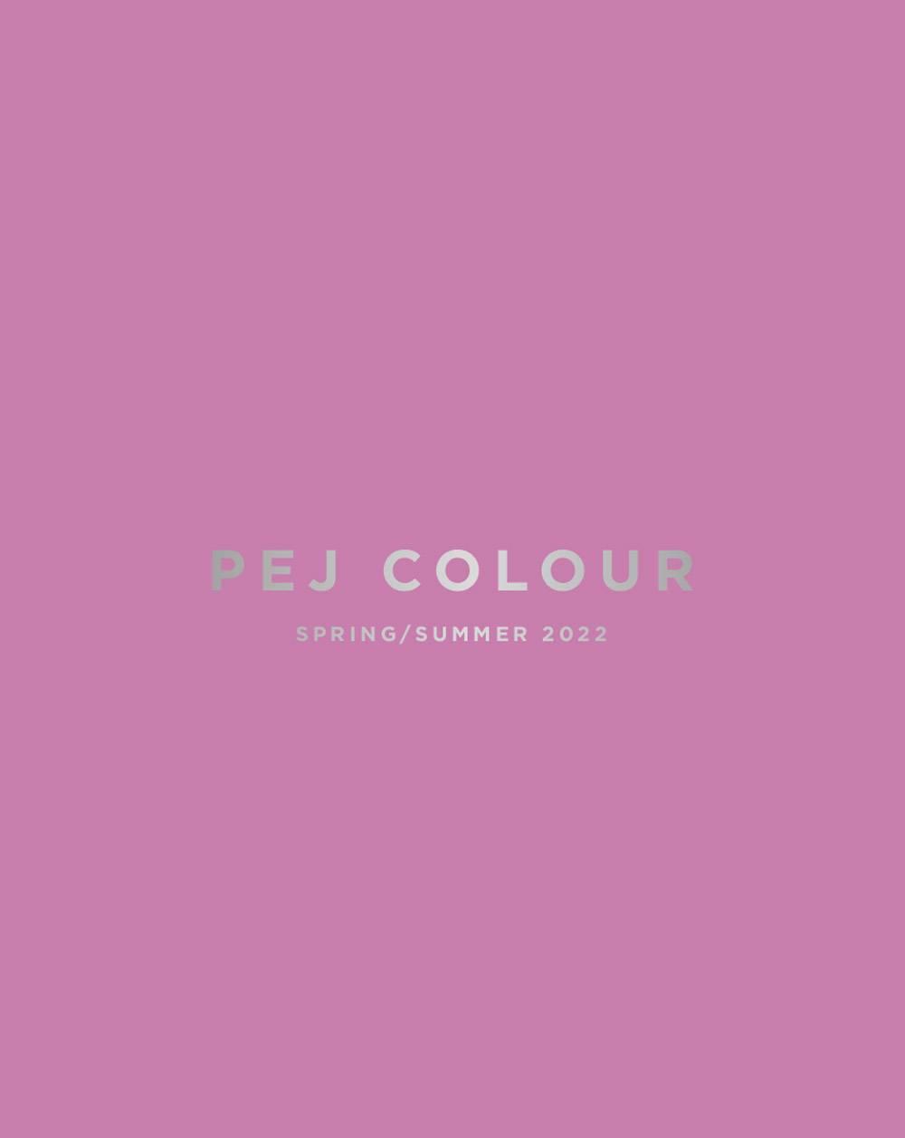 pej colour SS 22