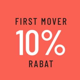 First Mover får 10% rabat